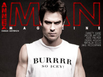Ian Somerhalder Poses for Annex Man, Talks Fashion