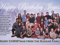 Duggar Family Yuletide Card