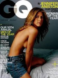 Half Naked Jennifer Aniston