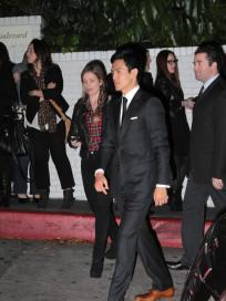 John Cho and Kerri Higuchi