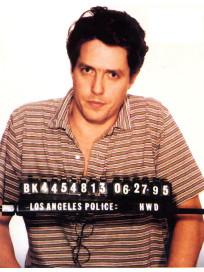 Hugh Grant Mug Shot