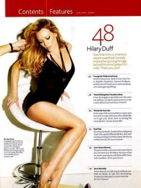 Hilary Duff Maxim Picture