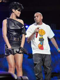 Chris Brown and Rihanna Live