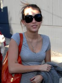 Miley in Her Gym Wear