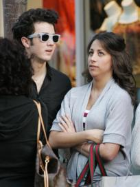 Danielle Deleasa and Kevin Jonas Photo