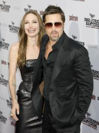 Angelina and Brad Pic