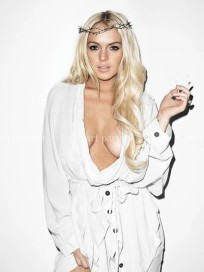 Lohan Cleavage Picture