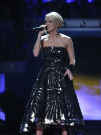 Carrie on Idol