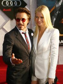 Gwyneth Paltrow and Robert Downey Jr.