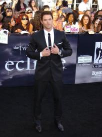 Kellan at the Premiere