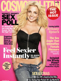 Britney Spears Cosmo Cover