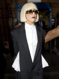 Gaga Wears Pants