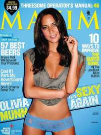 Olivia Munn for Maxim