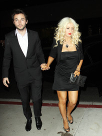 Christina Aguilera and Matt Rutler
