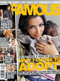 Kim is a Mother!