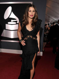 Lea Michele at the Grammys
