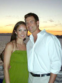Travis Stork and Charlotte Brown