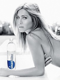 Topless Jennifer Aniston Smartwater Ad