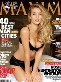 Rosie Huntington-Whiteley on Maxim