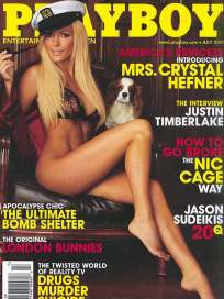 Crystal Harris Playboy Cover