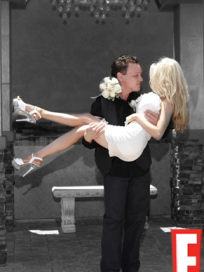 Doug Hutchinson and Courtney Stodden Wedding Photo