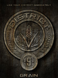 District Nine Badge