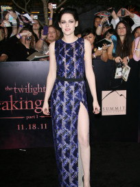 Kristen Stewart at Breaking Dawn Premiere