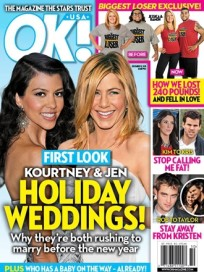 Jennifer Aniston Fake Wedding Cover