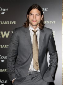Ashton Kutcher at New Year's Eve Premiere