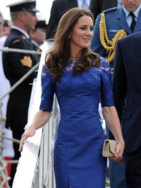 Kate in a Blue Dress
