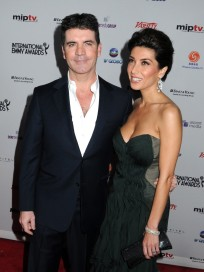 Mezhgan Hussainy and Simon Cowell Photo