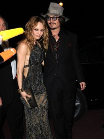 Johnny Depp and Vanessa Paradis Pic