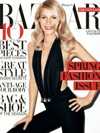 Gwyneth Paltrow Harper's Bazaar Cover