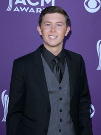 Scotty McCreery at the ACMs