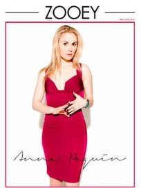 Anna Paquin for Zooey