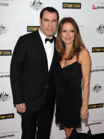 John Travolta and Kelly Preston Photo