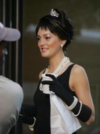 Leighton Meester In Bangs