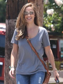Minka Kelly in West Hollywood