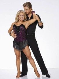 Shawn Johnson and Derek Hough