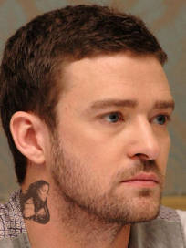 Justin Timberlake Tattoo (Fake)