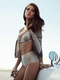 Ashley Greene Retro Bikini Pic