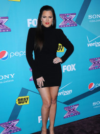 Khloe Kardashian at X Factor Party