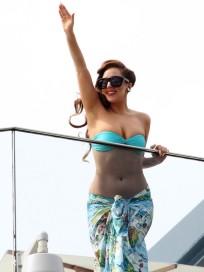 Lady Gaga Bikini Pic