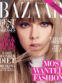 Taylor Swift Harper's Bazaar Cover