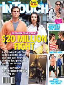 Kourtney Kardashian In Touch Cover