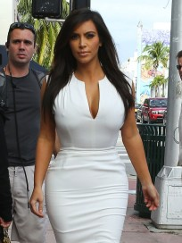 Kim Kardashian Walks