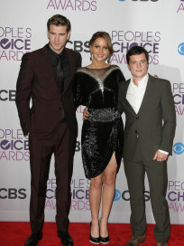 Hunger Games Stars at PCAs