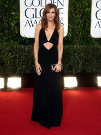 Kristen Wiig at the Golden Globes