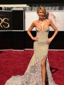 Brandi Glanville Oscar Dress