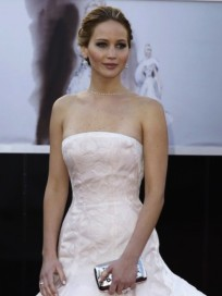 Jennifer Lawrence Oscars Gown